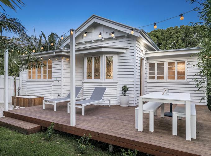 a coastal airbnb